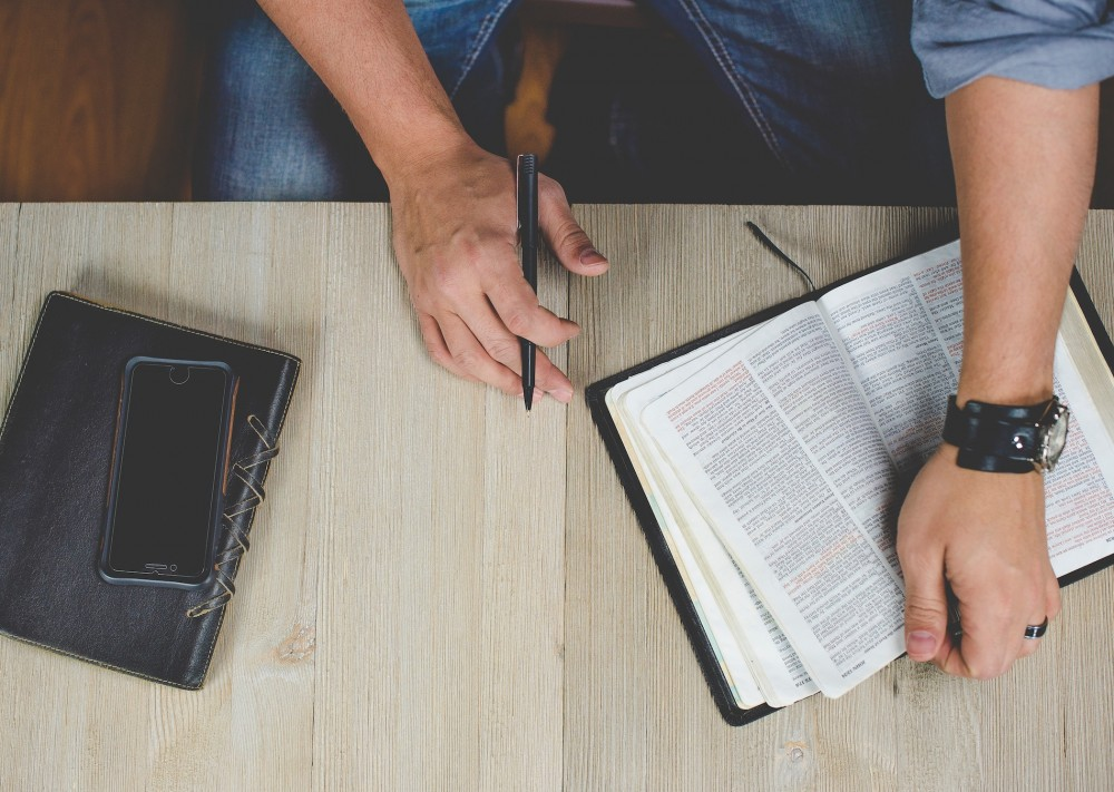Preučuj Sveto pismo s S.O.A.P.