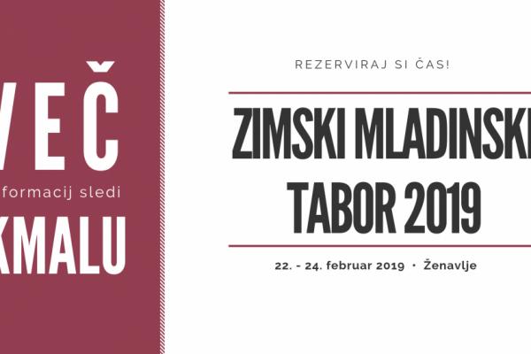 Zimski mladinski tabor 2019