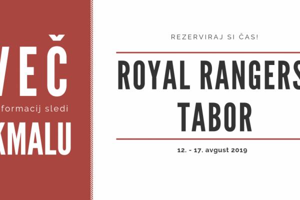 Royal Rangers Tabor 2019