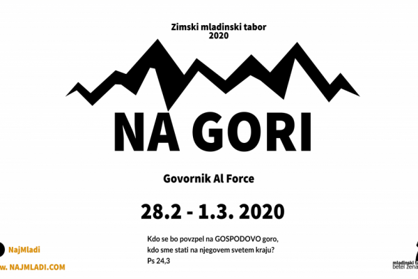 Zimski mladinski tabor 2020
